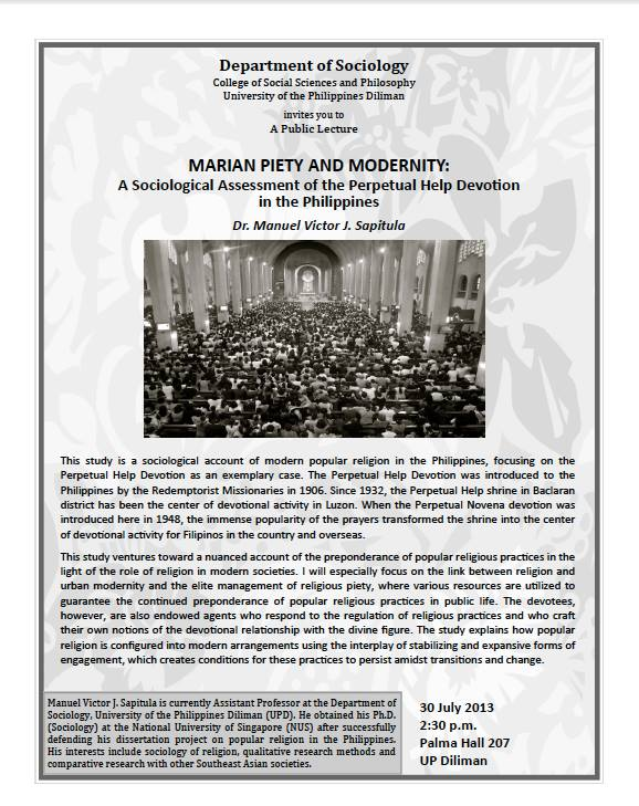 Marian Piety and Modernity