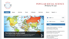 Blog of the Week: Popular Social Science